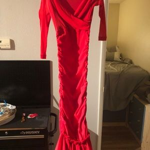Betsey Johnson Dresses - Vintage Betsey Johnson Gown Red